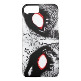Demon Eyes Airbrush Art iPhone 7 Case