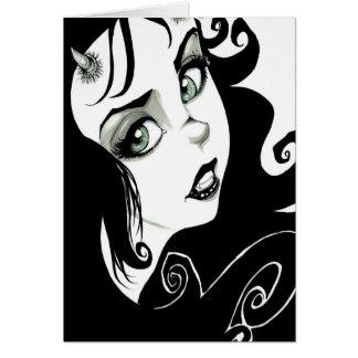 Demon Eyes Card