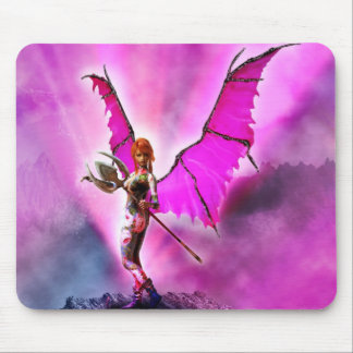 Demon FlowerFae Mouse Pad