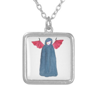 Demon Girl Silver Plated Necklace