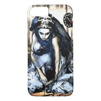 Demon girl Watercolor Art iPhone 7 Case