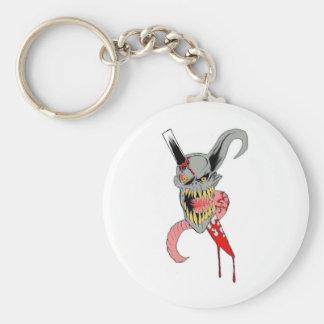 Demon Horror Art Keychains