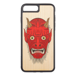 Demon Illustration Carved iPhone 7 Plus Case