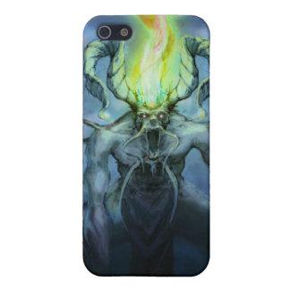 Demon Illustration iPhone 5 Cases