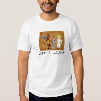 demon llama t-shirt