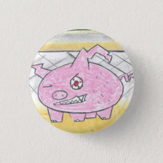 Demon Pig 3 Cm Round Badge