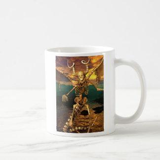 Demon Skeleton Coffee Mug
