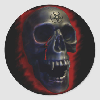 Demon Skull 1 Sticker