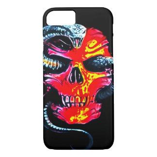 Demon Skull Art Nouveau iPhone 7 Case