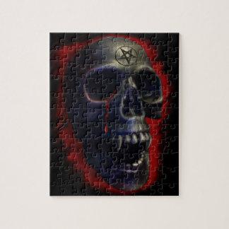 Demon Skull Jigsaw Puzzle