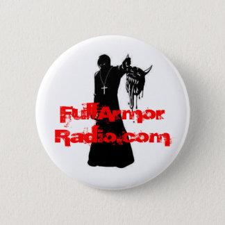 Demon Slayer, FullArmorRadio.com 6 Cm Round Badge