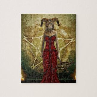 Demon Women Jigsaw Puzzle
