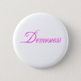 Demoness 6 Cm Round Badge