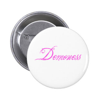 Demoness 6 Cm Round Badge