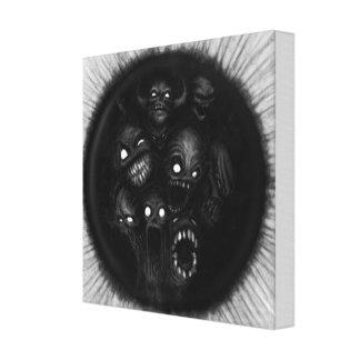 Demonic Canvas Print