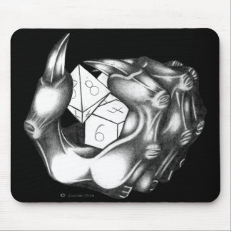 Demonic Dice Mouse Pad