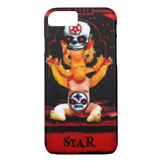 Demonic Doll Star Tarot Card iPhone 7 Case