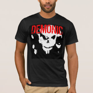 Demonic Fitted Mens Tee - Customized
