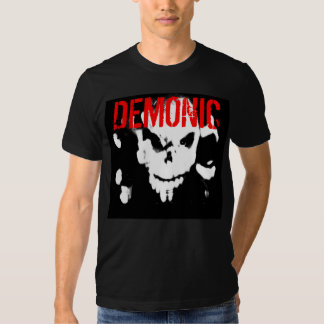 Demonic Fitted Mens Tee - Customized - Customized
