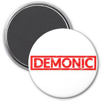 Demonic Stamp Magnet