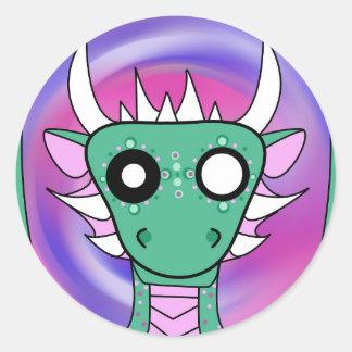 Demonimals Green Dragon sticker