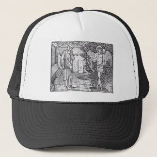 DEMONS AND ANGELS TRUCKER HAT