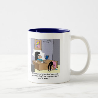 Demonstrate your agile skills! Two-Tone mug