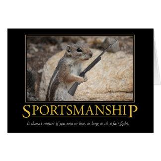 Demotivational Card: Sportsmanship Card