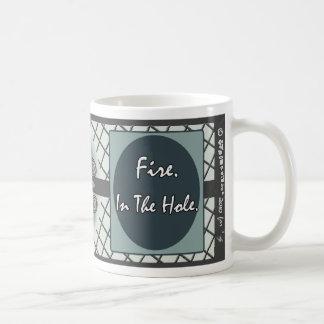 Demotivational Mugs_Fireinthehole Basic White Mug