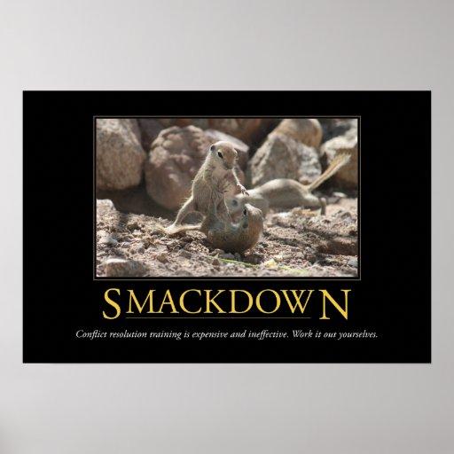 Demotivational Poster: Smackdown