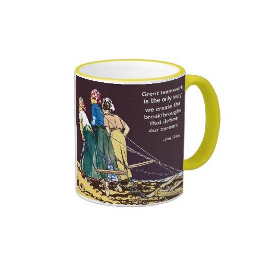 Demotivational Teamwork Quote Gift Mug