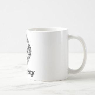 Dempsey Celtic Cross Basic White Mug