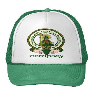 Dempsey Clan Motto Cap Hats