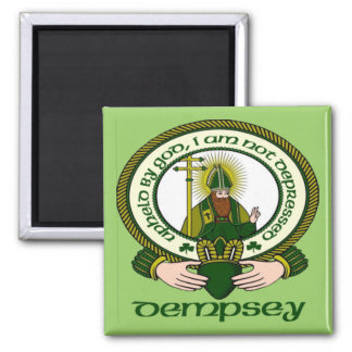 Dempsey Clan Motto Magnet