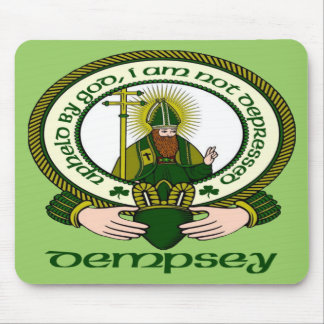 Dempsey Clan Motto Mouse Pad