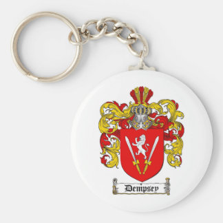 DEMPSEY FAMILY CREST -  DEMPSEY COAT OF ARMS KEY RING