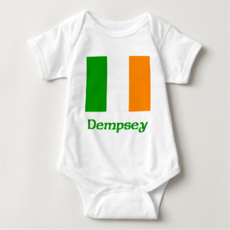 Dempsey Irish Flag Baby Bodysuit