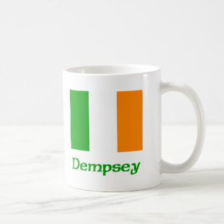 Dempsey Irish Flag Basic White Mug