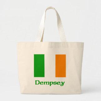 Dempsey Irish Flag Jumbo Tote Bag