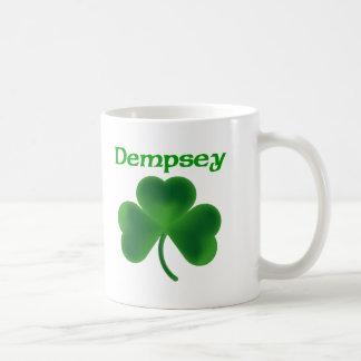 Dempsey Shamrock Basic White Mug
