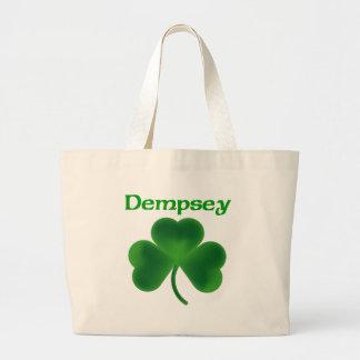 Dempsey Shamrock Jumbo Tote Bag