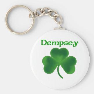 Dempsey Shamrock Keychain