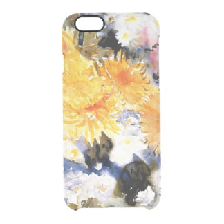 Demuth - Yellow and Blue Clear iPhone 6/6S Case