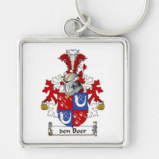 den Boer Family Crest Keychain