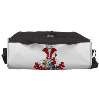 den Boer Family Crest Bags For Laptop