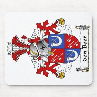 den Boer Family Crest Mousepad