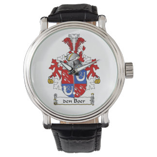 den Boer Family Crest Wristwatches