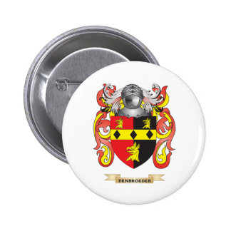 Den Broeder Coat of Arms Button