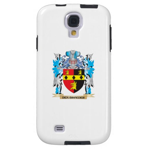 Den-Broeder Coat of Arms - Family Crest Galaxy S4 Case