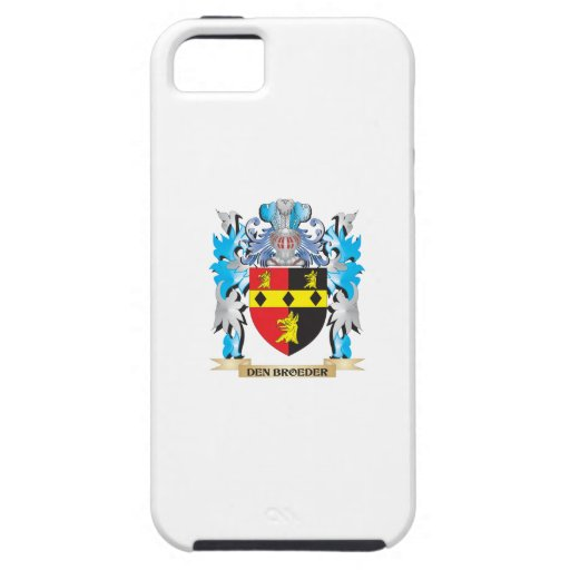 Den-Broeder Coat of Arms - Family Crest iPhone 5/5S Cases
